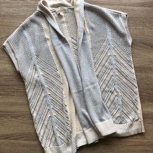 Knox Rose size XS open knit short sleeve cardigan